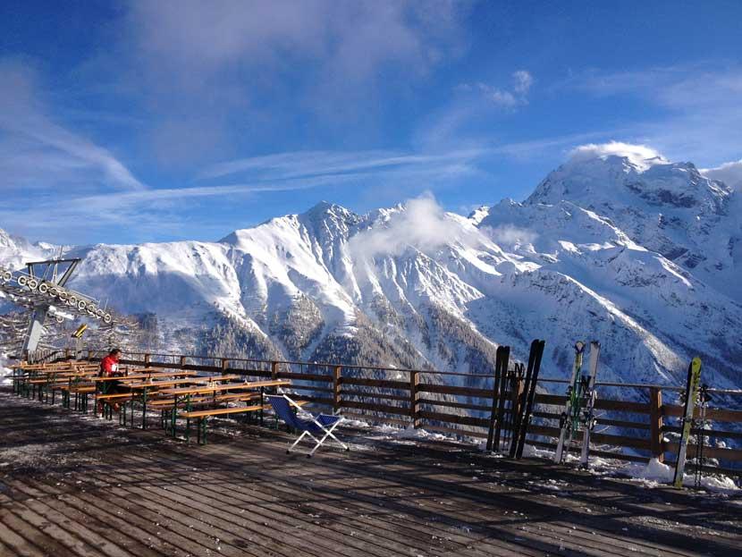 Furkelhütte Panorama