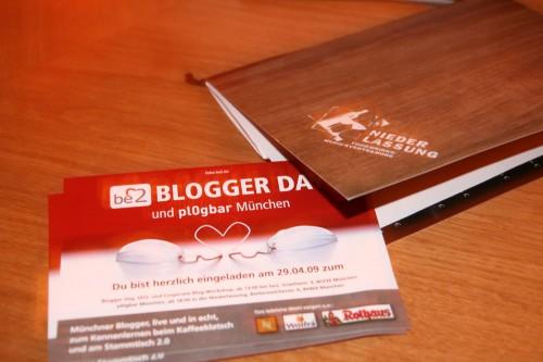 blogger da in der Niederlassung