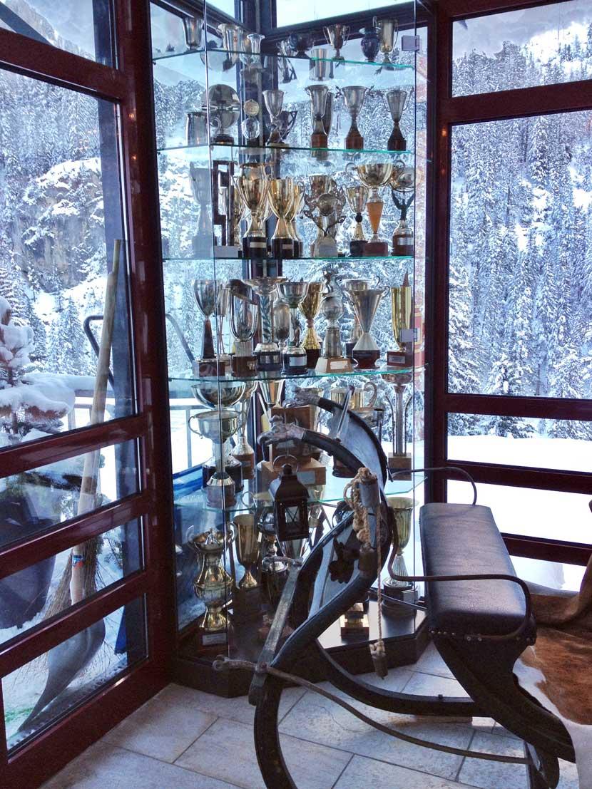 Gustav Thöni Pokale