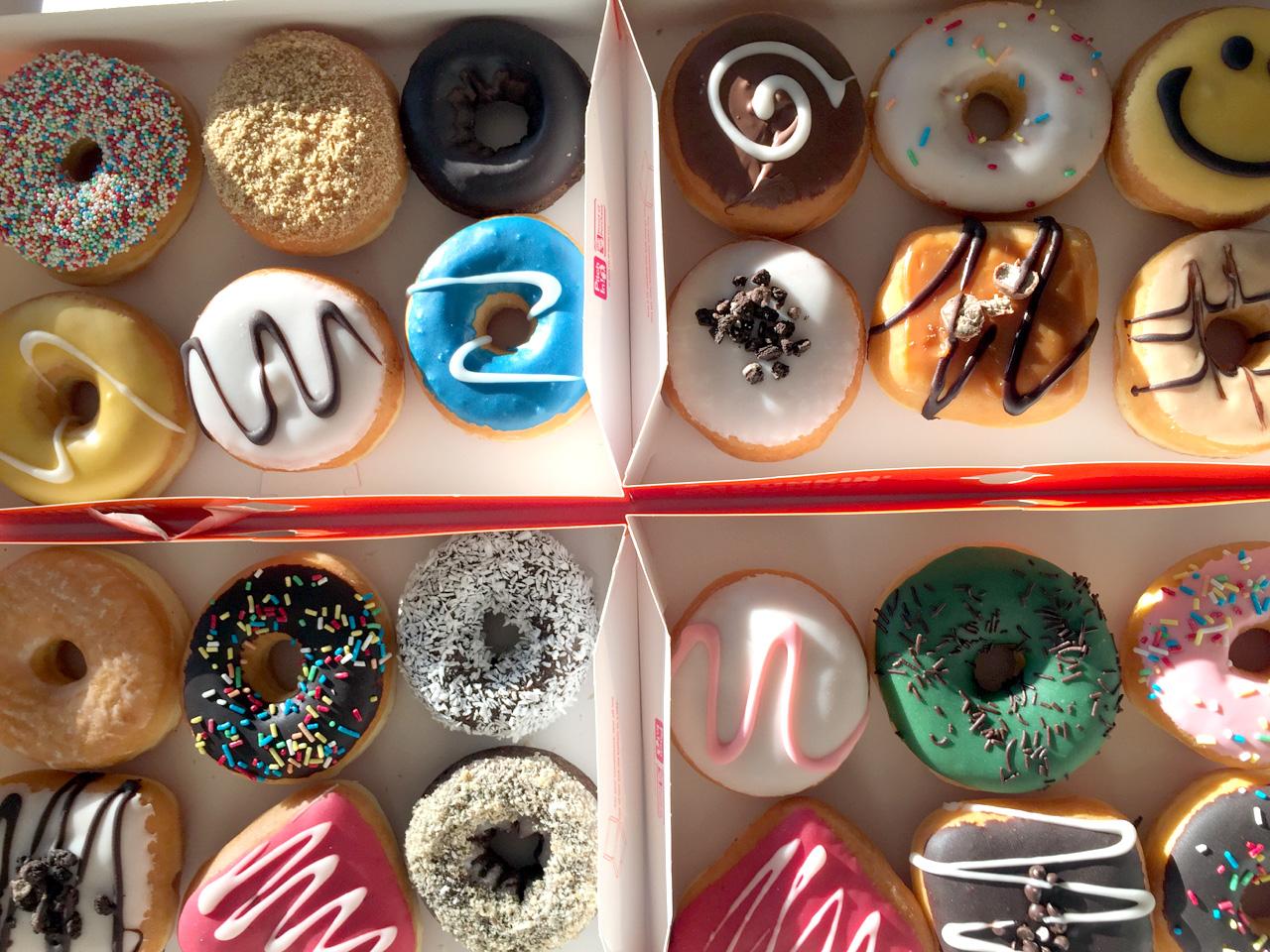 Fastenzeit Donuts